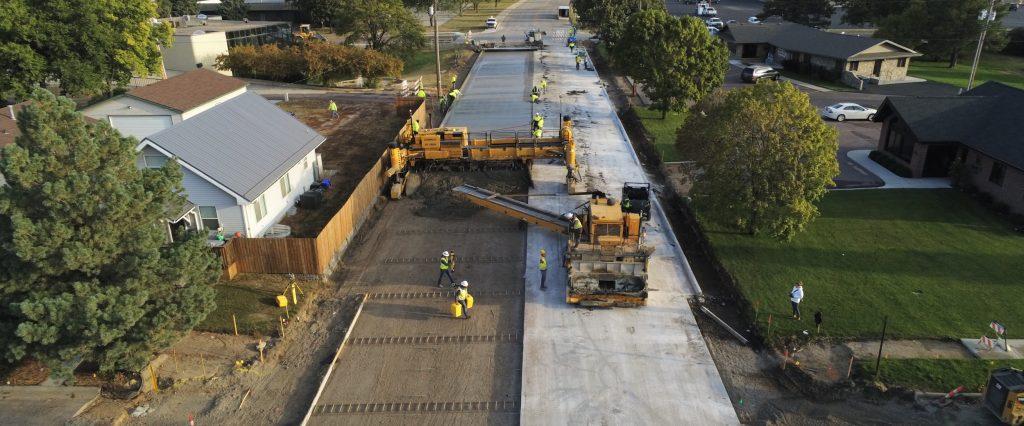 Construction Engineering for Sanborn Blvd in Mitchell