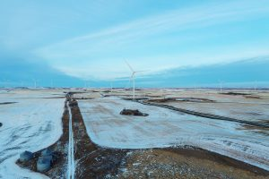 Wind Farm Survey North Dakota