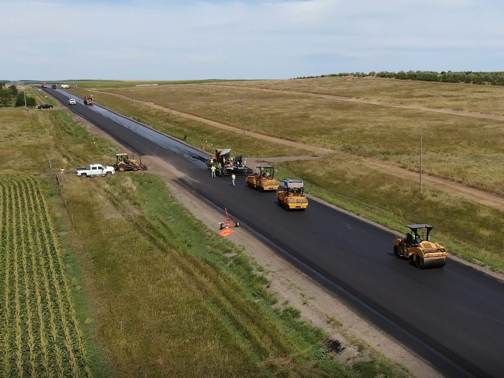 SDDOT US Hwy 183 Overlay Construction Engineering