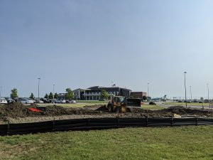 Airport Road Construction in Pierre, SD